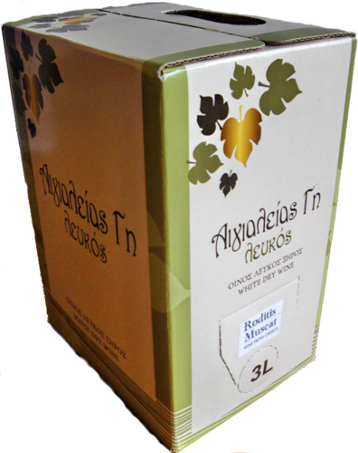 RODITIS-MUSCAT trocken Bag-in-Box 3 Liter